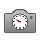 Icon photo clock